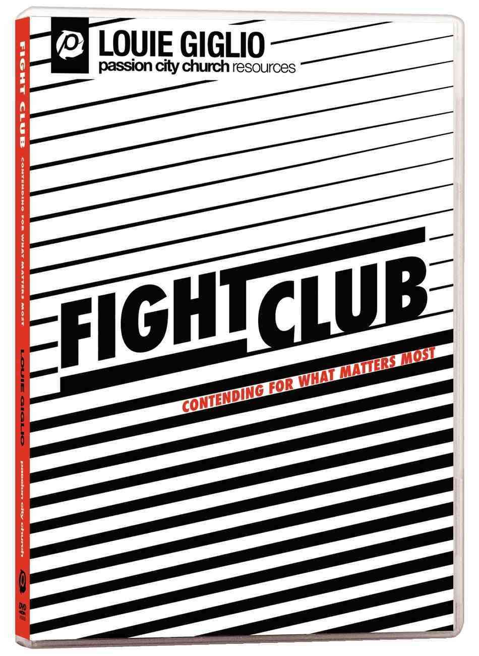 Fight Club: Contending For What Matters Most DVD