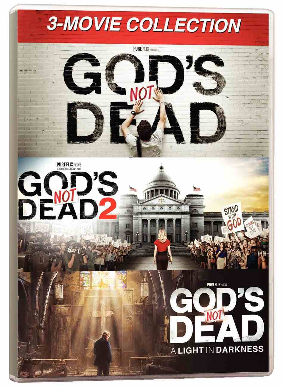 God's Not Dead 3-Movie Collection (3 Dvd Triple Pack) DVD