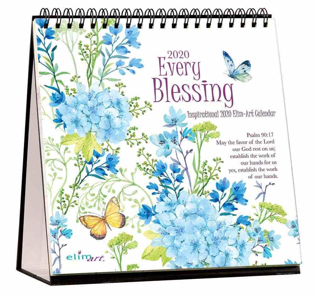 2020 Table Calendar: Every Blessing Calendar
