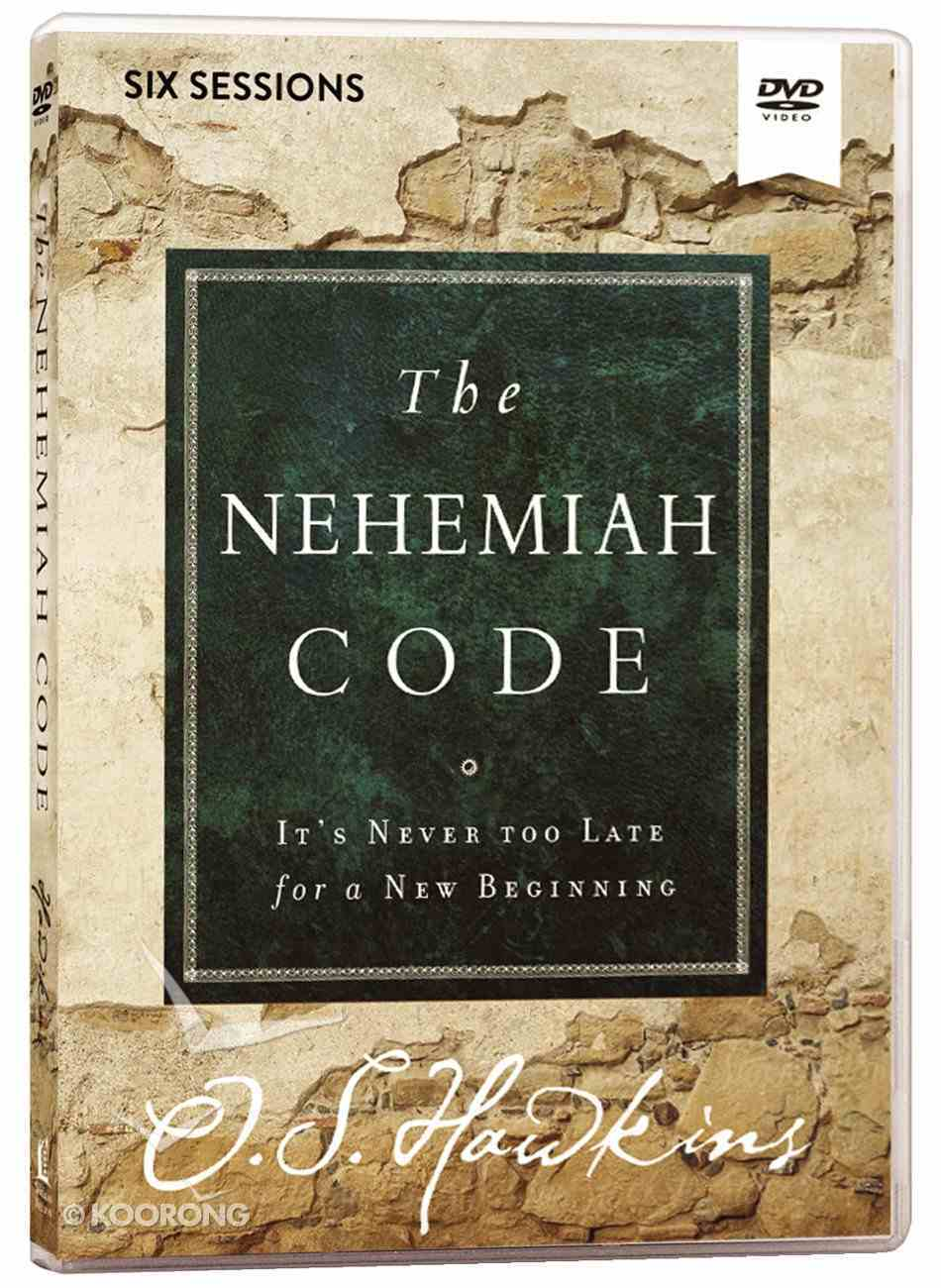 The Nehemiah Code: It's Never Too Late For a New Beginning (Video Study) DVD