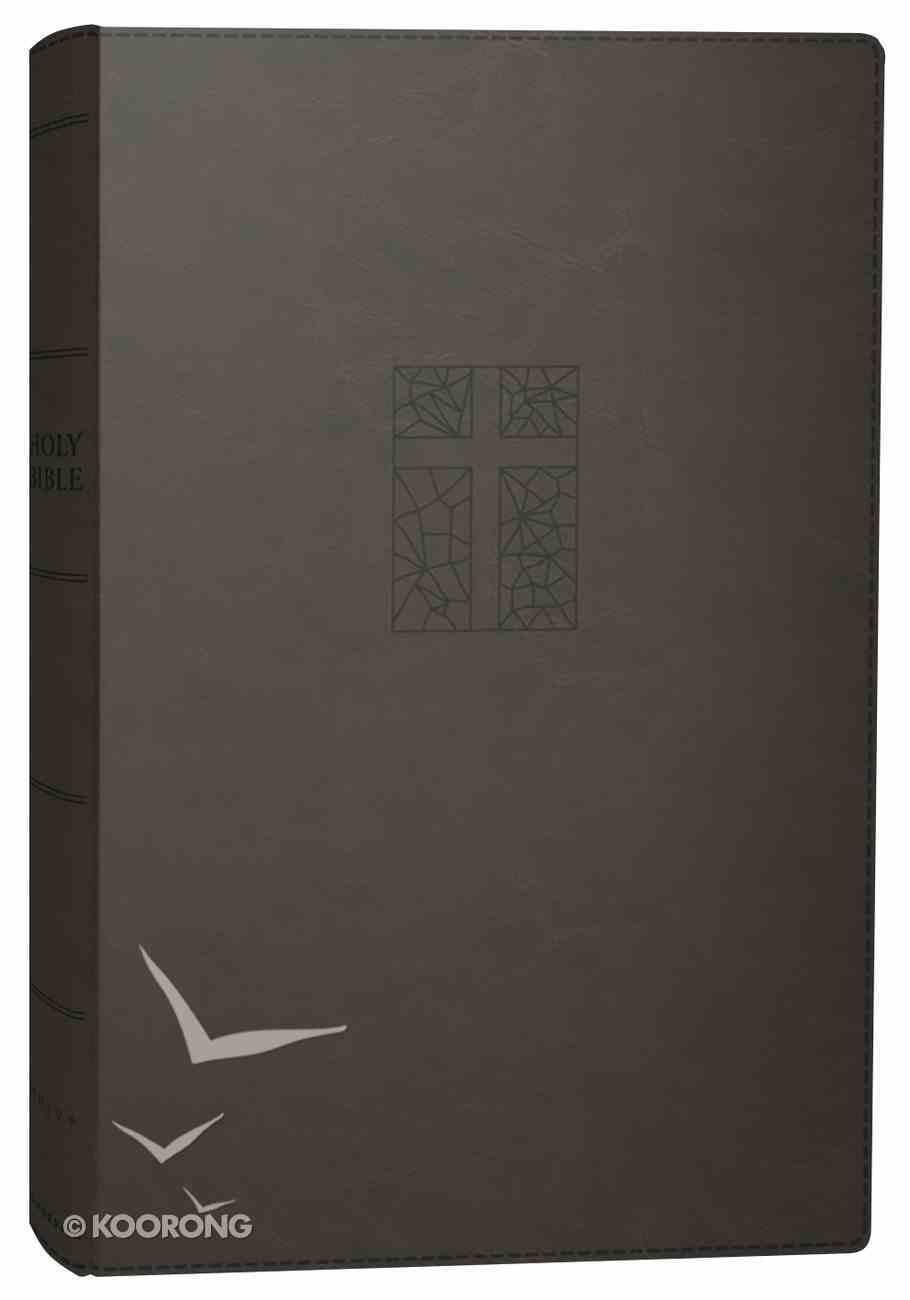 NRSV Thinline Bible Large Print Black Premium Imitation Leather