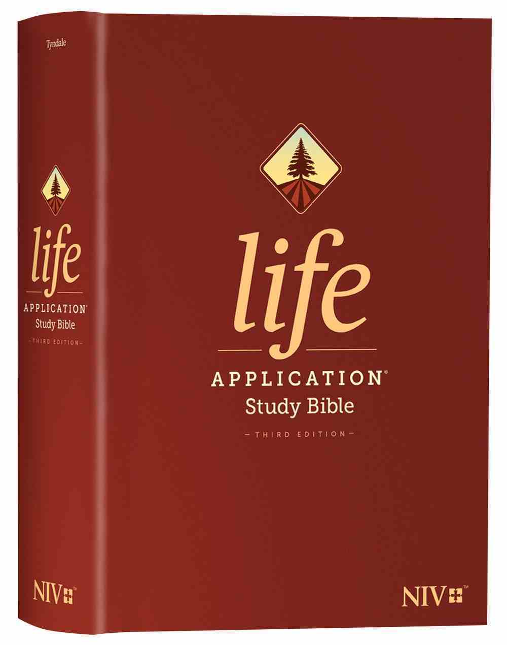 NIV Life Application Study Bible 3rd Edition (Black Letter Edition) Hardback