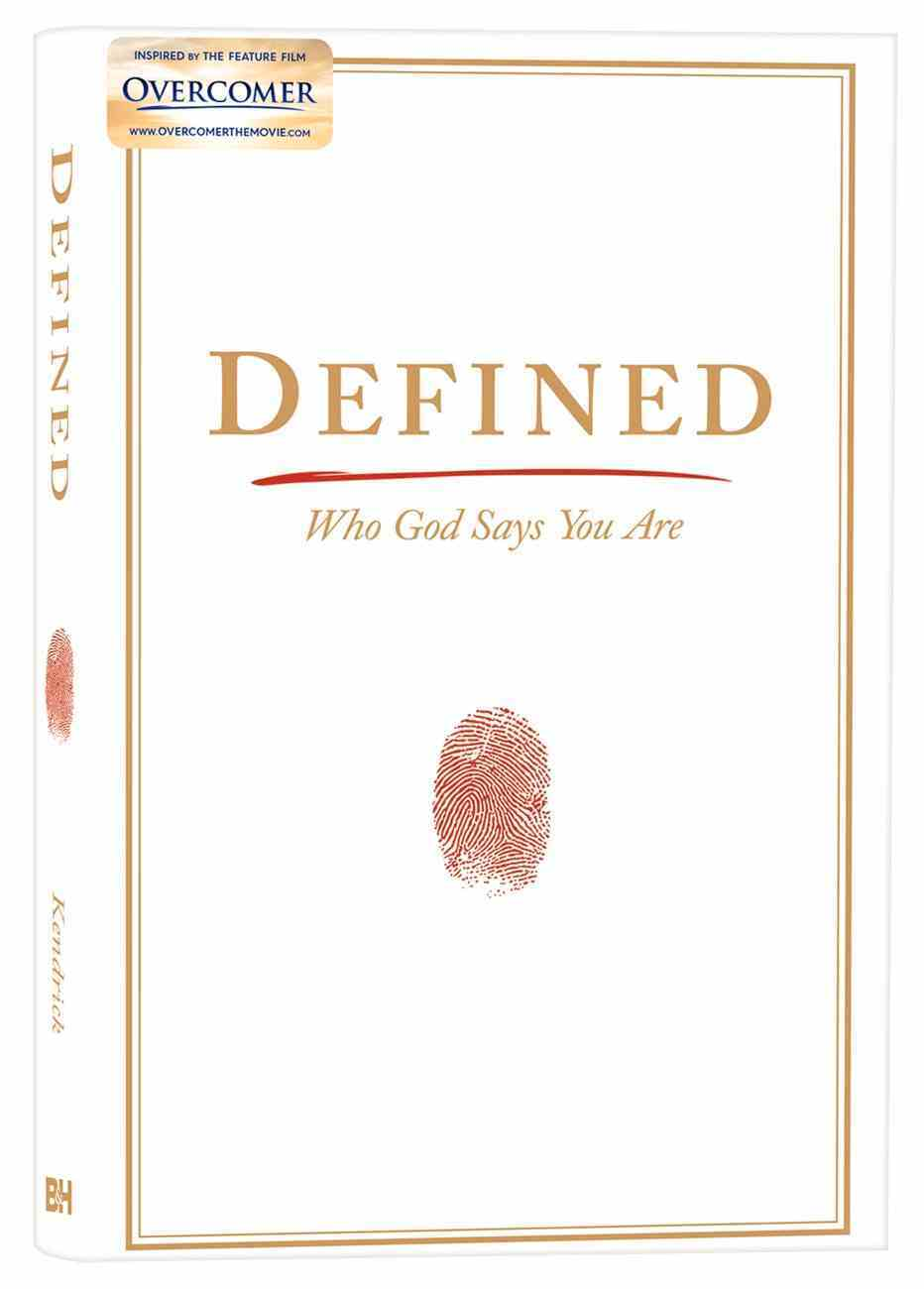 Defined: Who God Says You Are Hardback