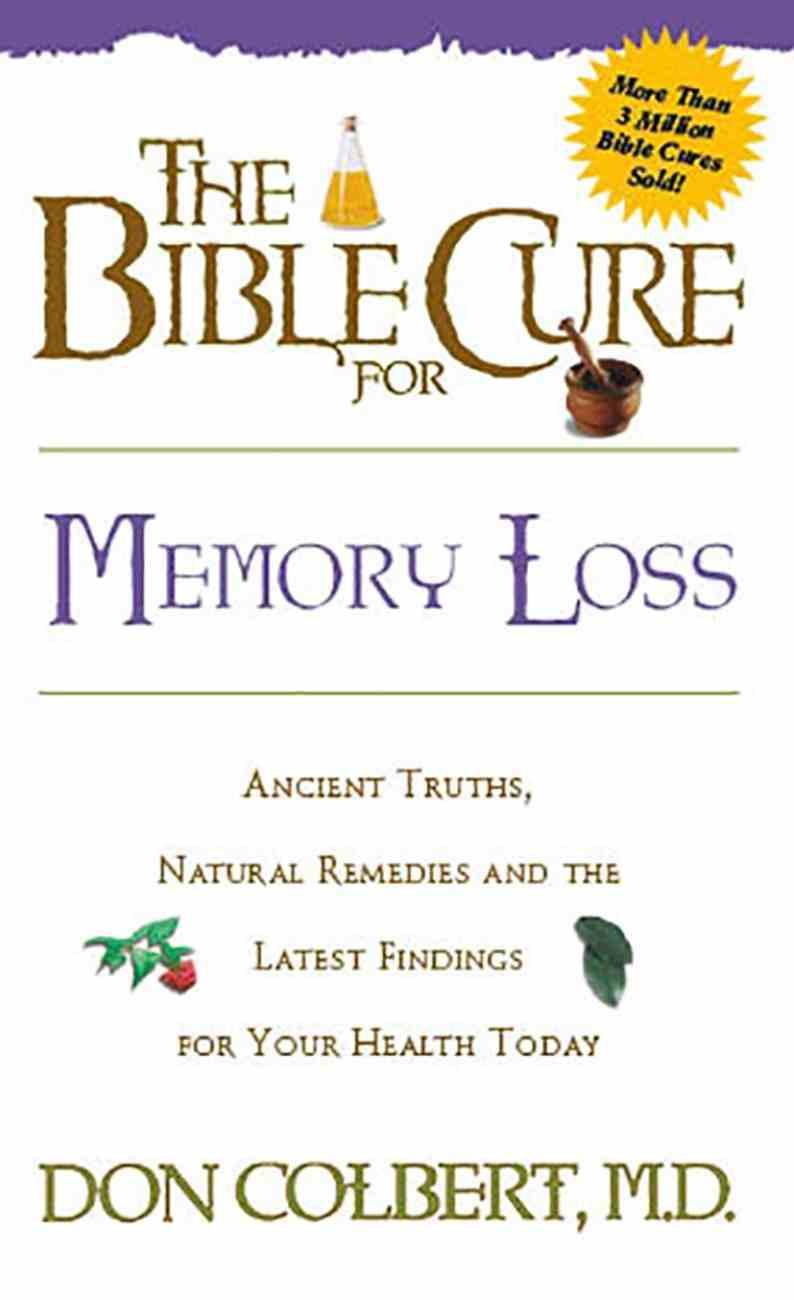 Bible Cure: Memory Loss Paperback