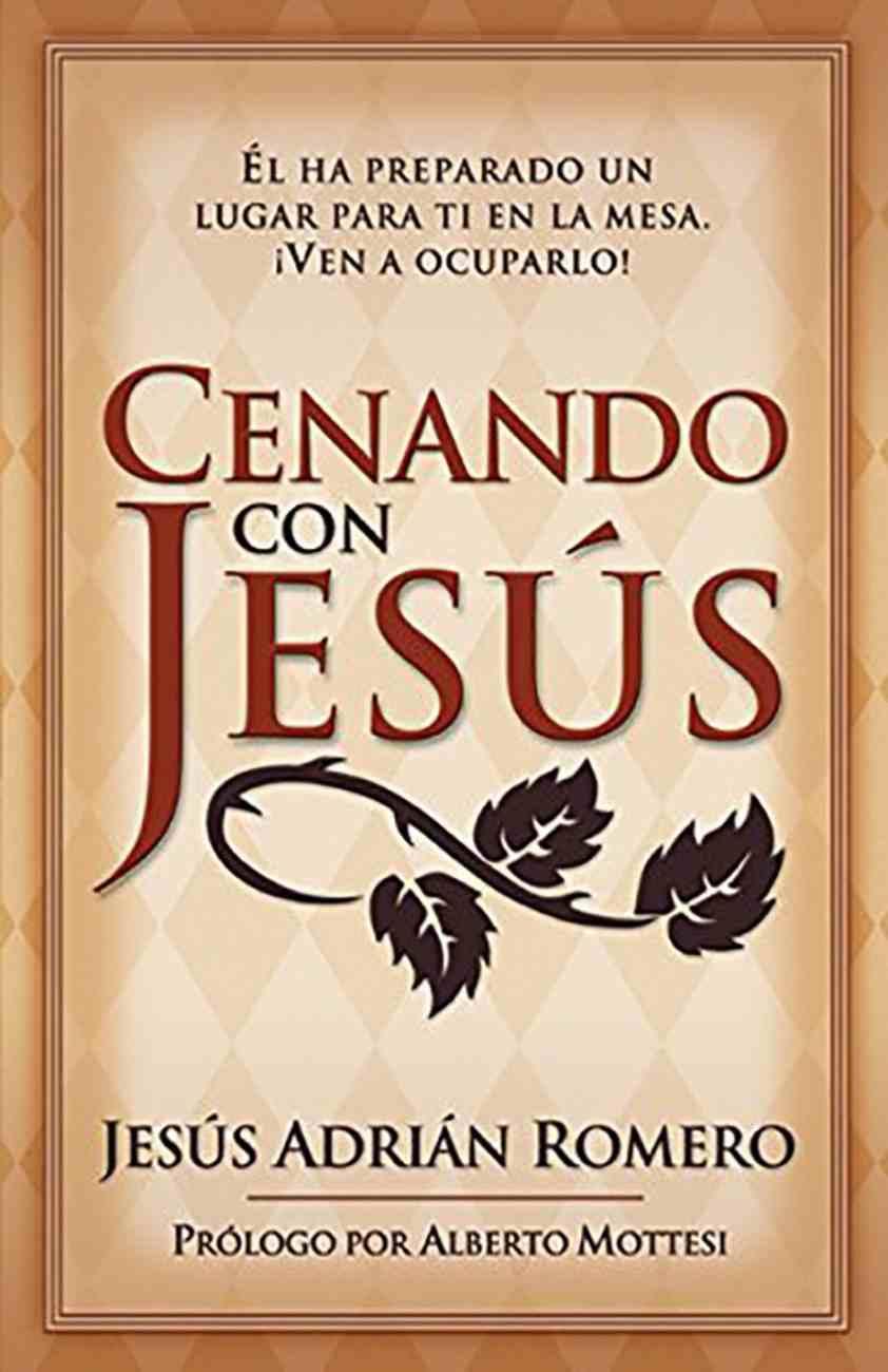 Cenando Con Jesus (At His Table) Paperback