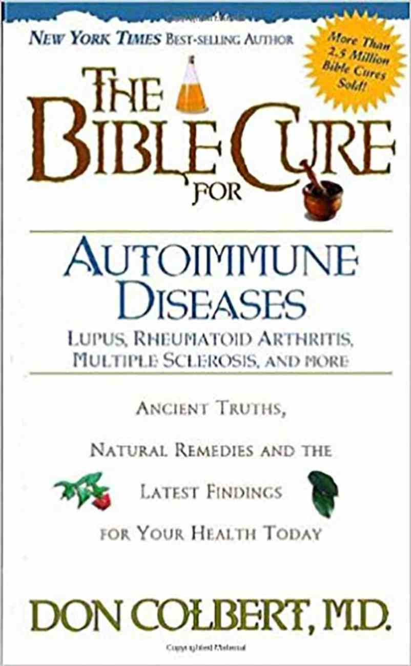 The Bible Cure For Autoimmune Disorders (Bible Cure Series) Paperback