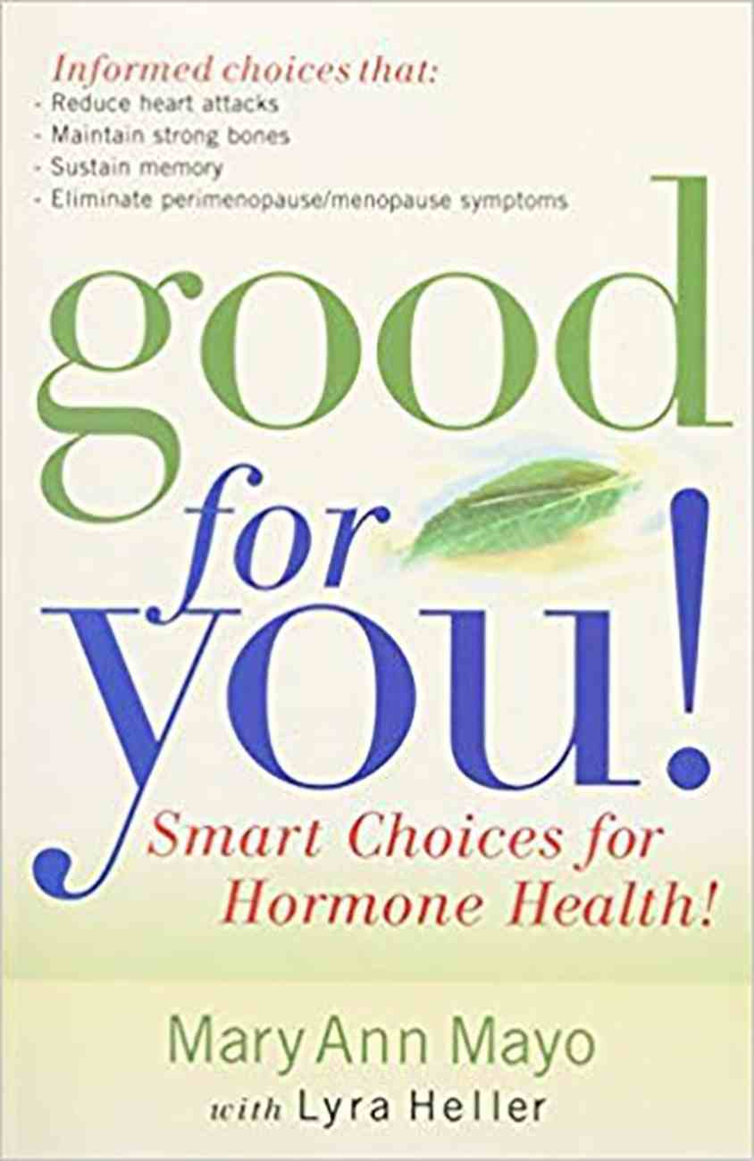 Good For You Paperback