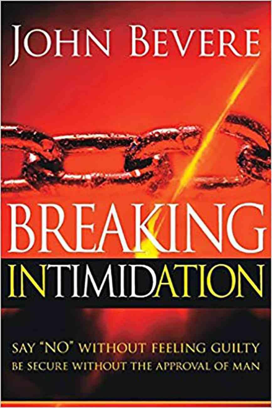 Breaking Intimidation Paperback