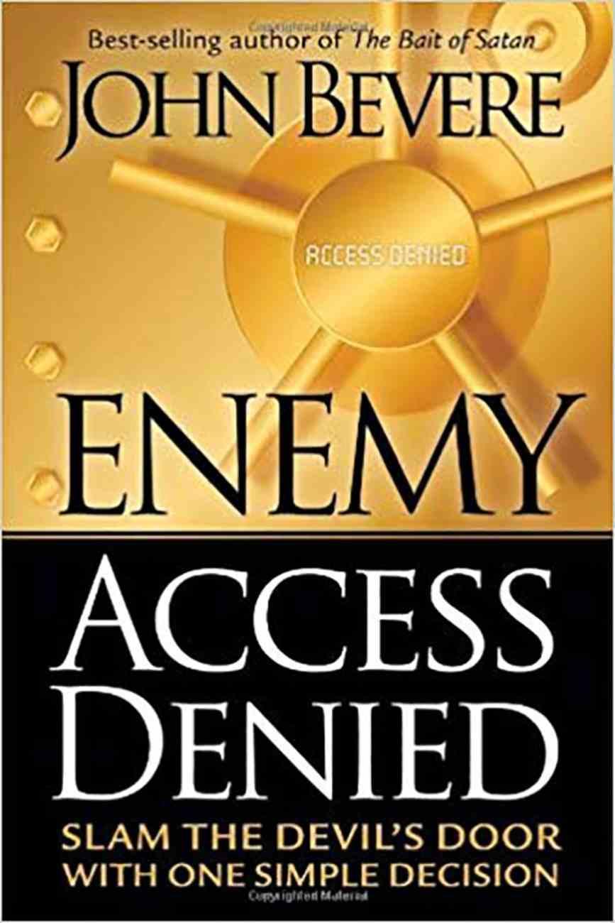 Enemy Access Denied Paperback