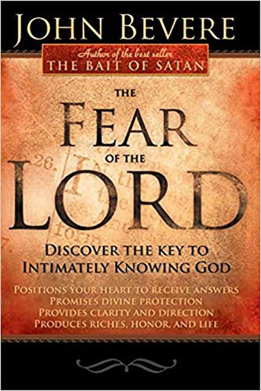 The Fear of the Lord Paperback