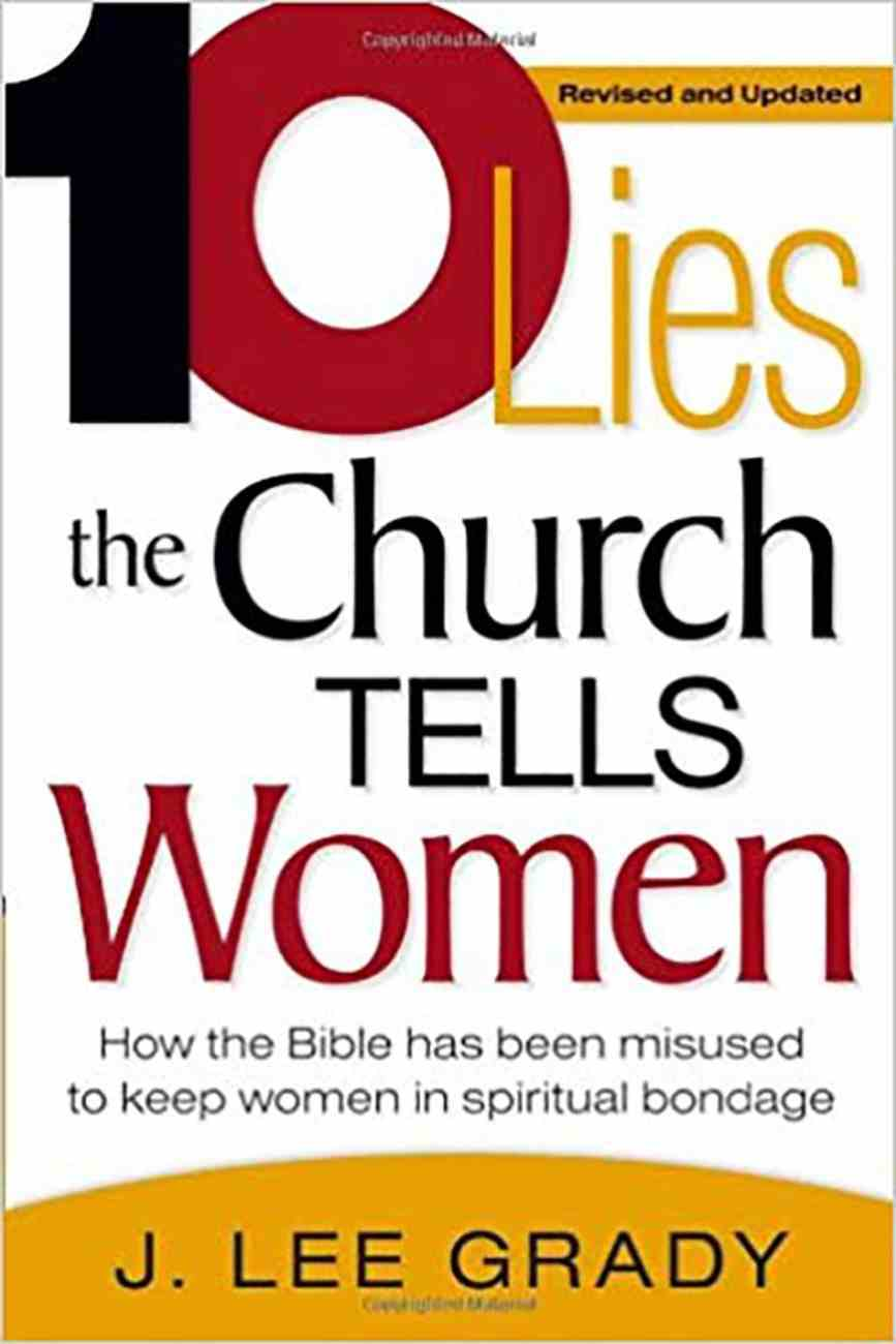 10 Lies the Church Tells Women Paperback