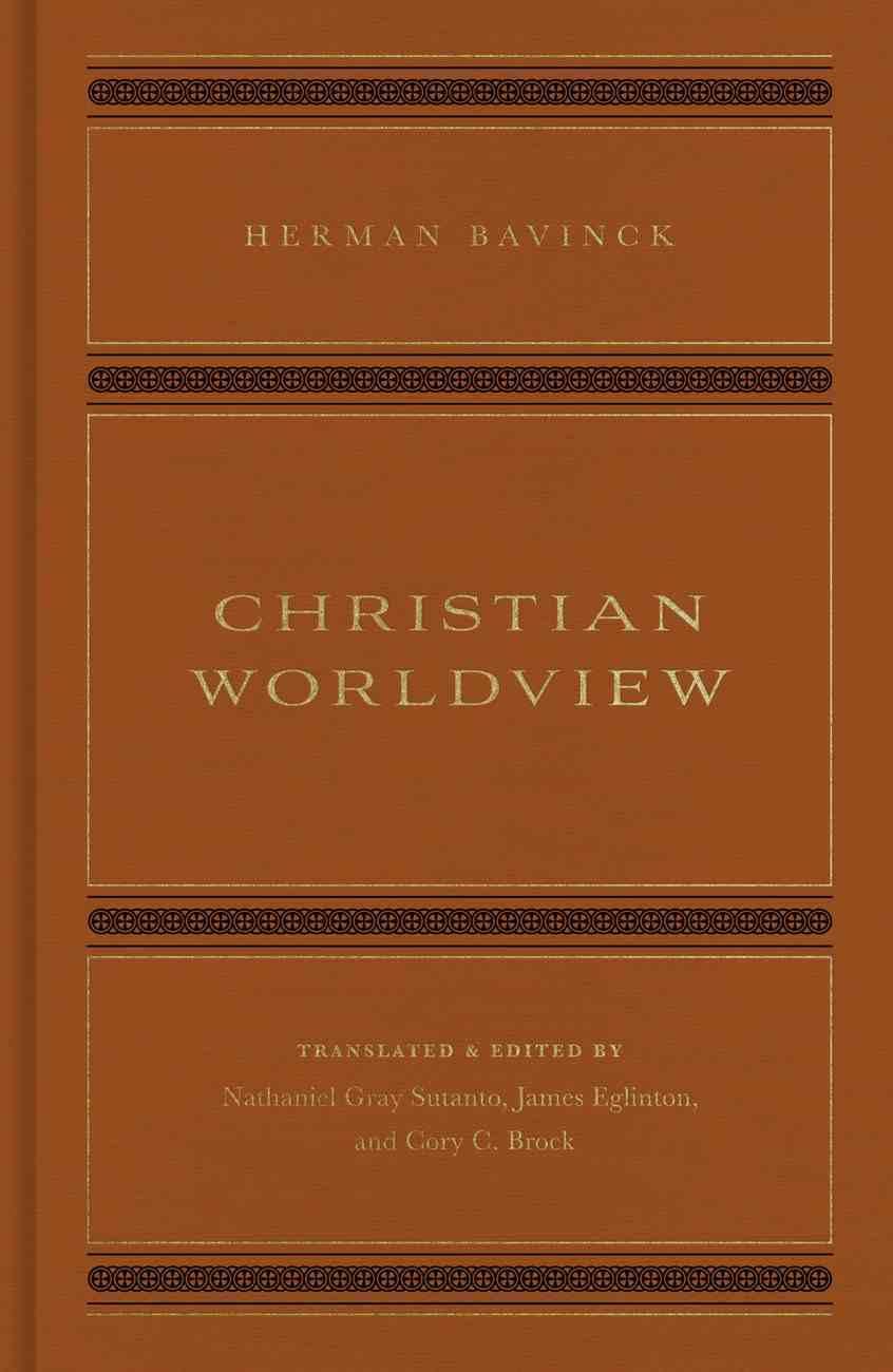 Christian Worldview Hardback