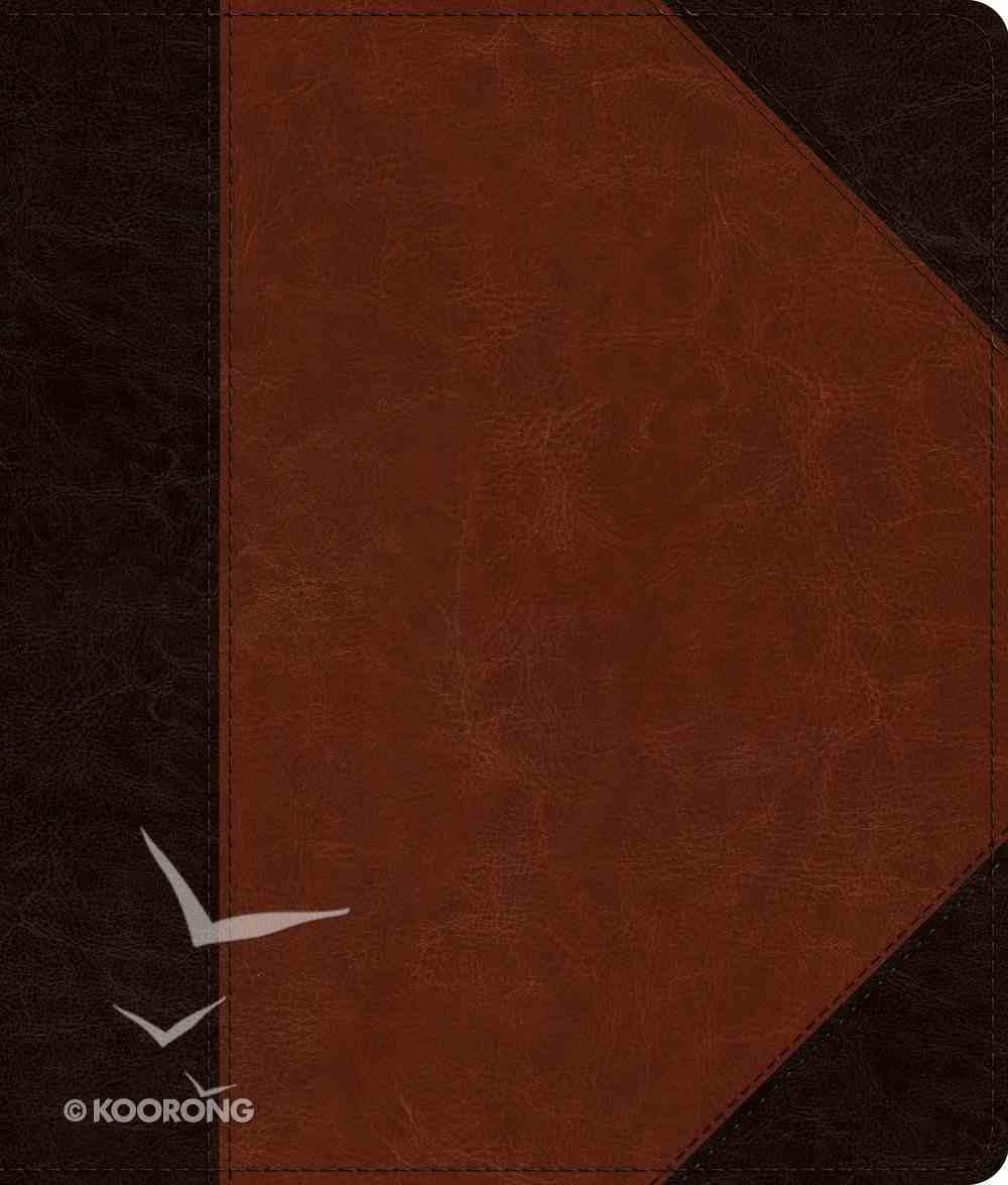 ESV Journaling Bible Brown/Cordovan Portfolio Design (Black Letter Edition) Imitation Leather