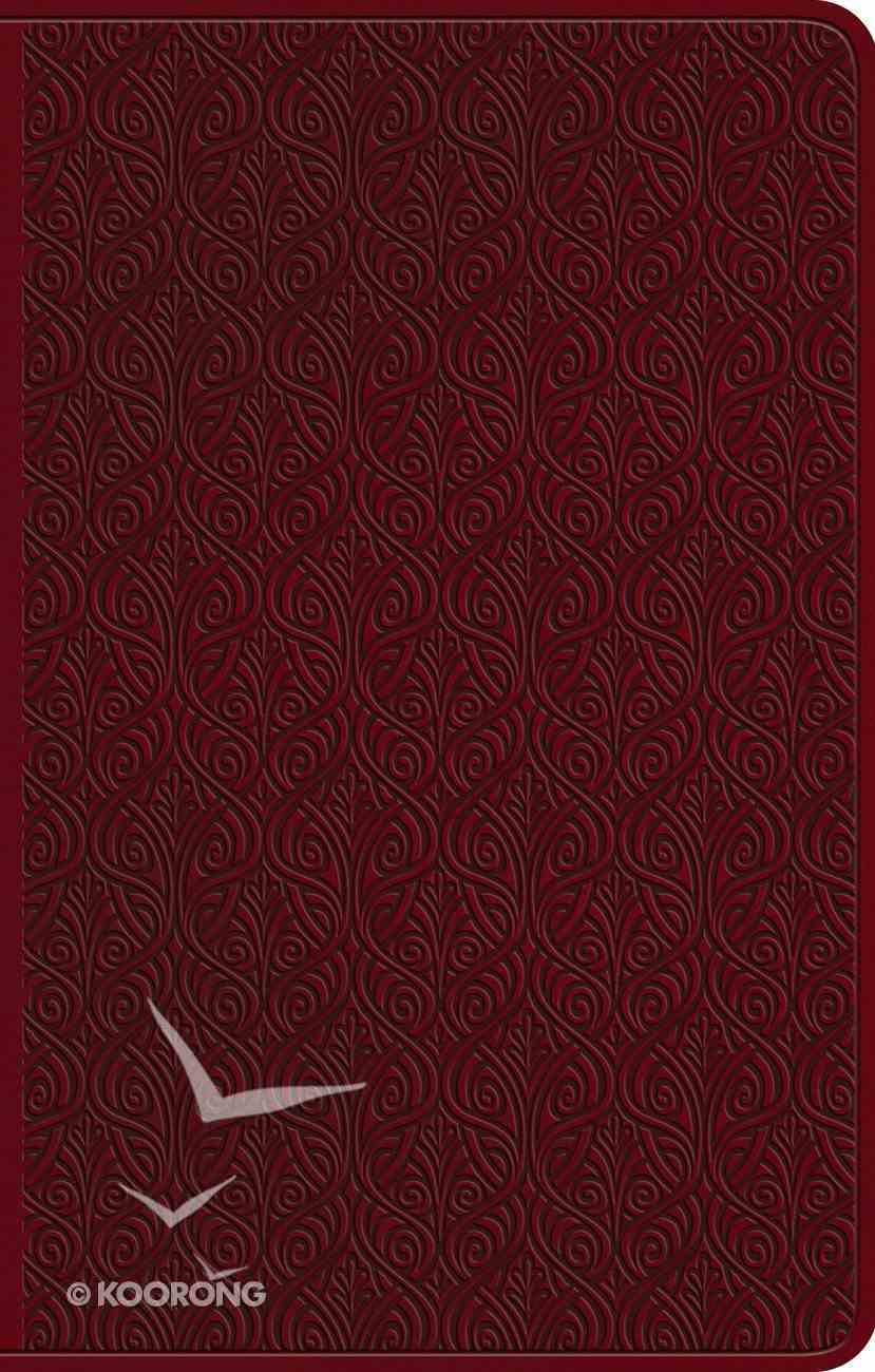 ESV Premium Gift Bible Ruby Vine Design (Black Letter Edition) Imitation Leather