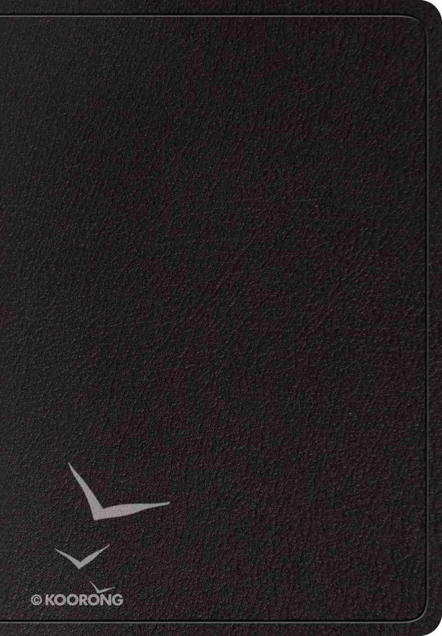ESV Super Giant Print Bible Black (Black Letter Edition) Genuine Leather