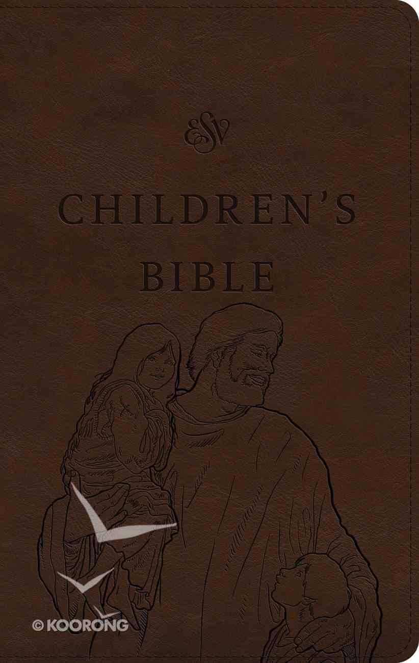 ESV Children's Bible Brown Let the Children Come Design (Black Letter Edition) Imitation Leather