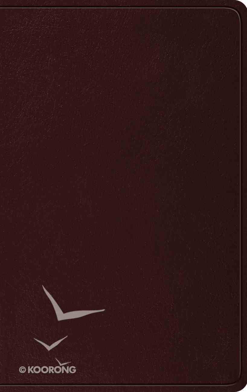 ESV Thinline Bible Burgundy (Red Letter Edition) Imitation Leather