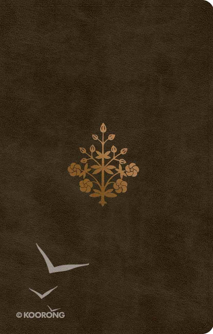 ESV Ultrathin Bible Olive Branch Design Imitation Leather