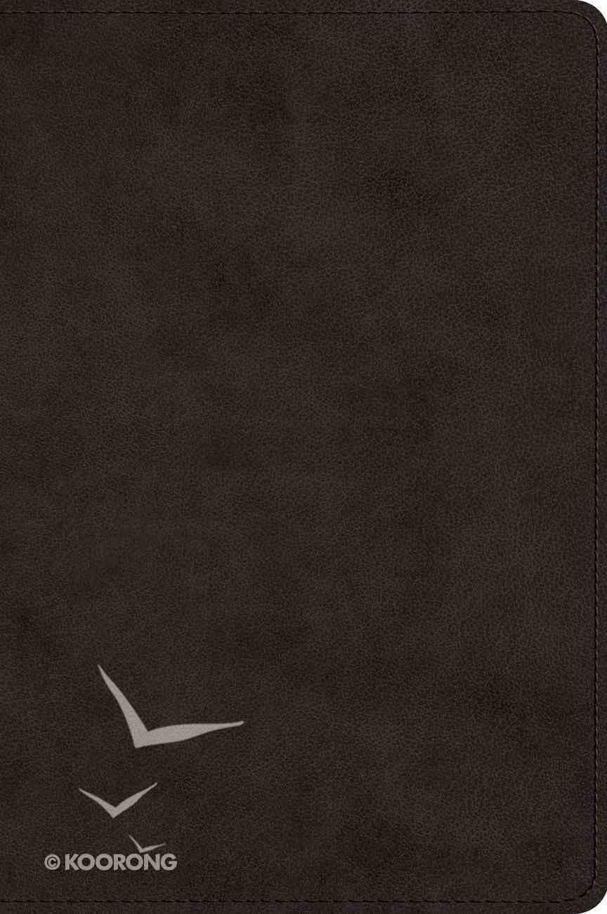 ESV Wide Margin Reference Bible Black (Red Letter Edition) Imitation Leather