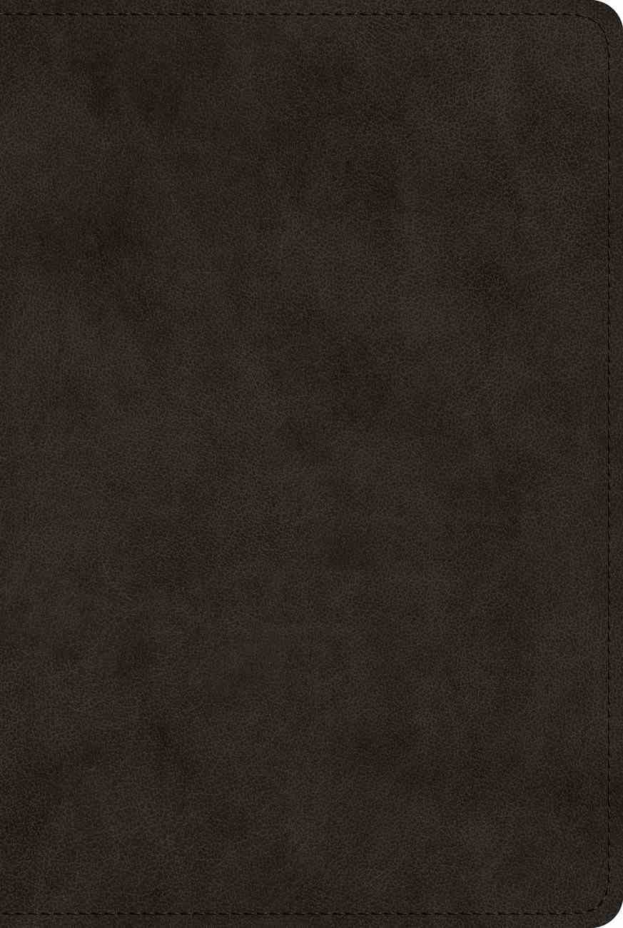 ESV Bible With Creeds and Confessions Black (Black Letter Edition) Imitation Leather
