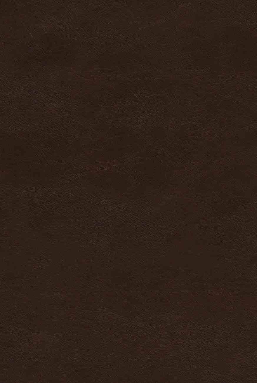 ESV Bible With Creeds and Confessions Brown (Black Letter Edition) Imitation Leather Over Hardback