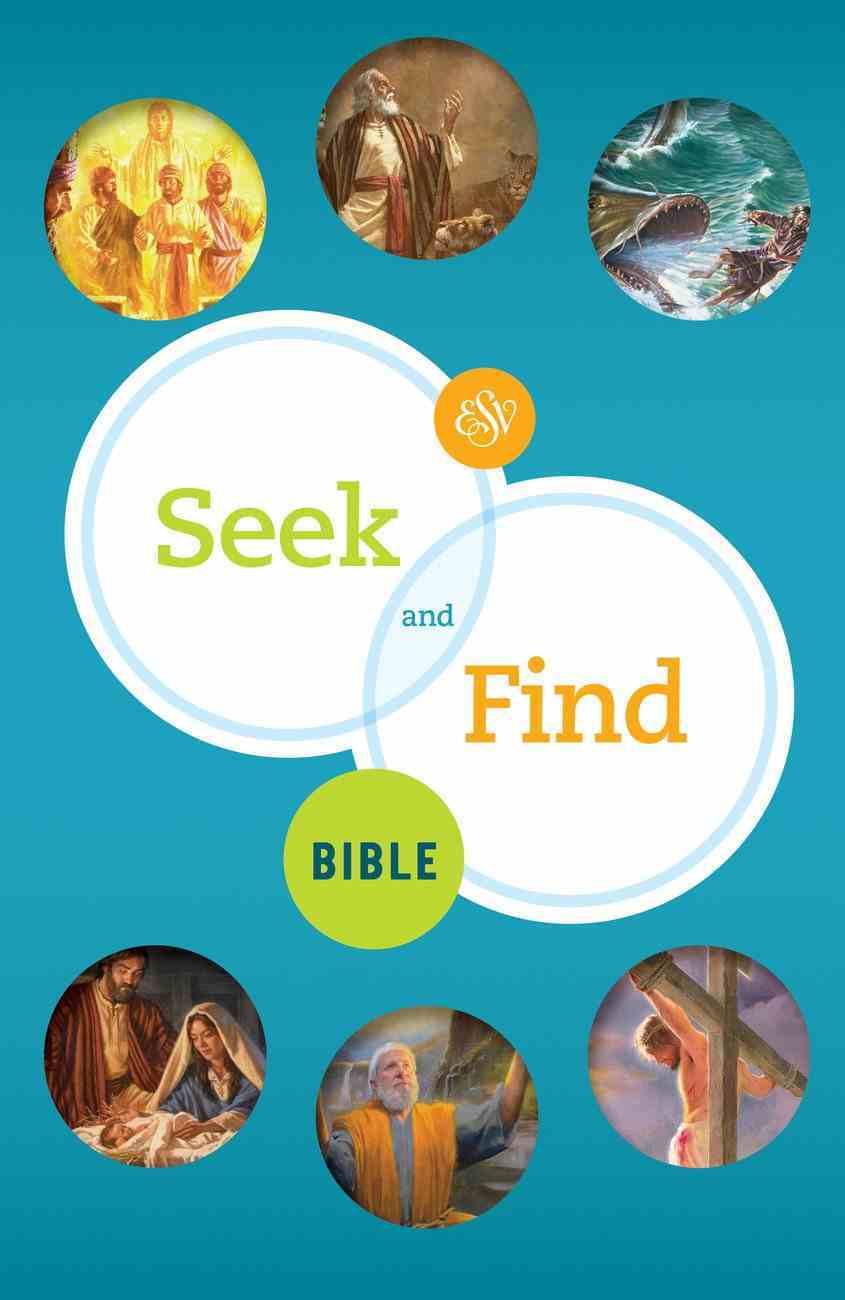 ESV Seek and Find Bible (Black Letter Edition) Hardback