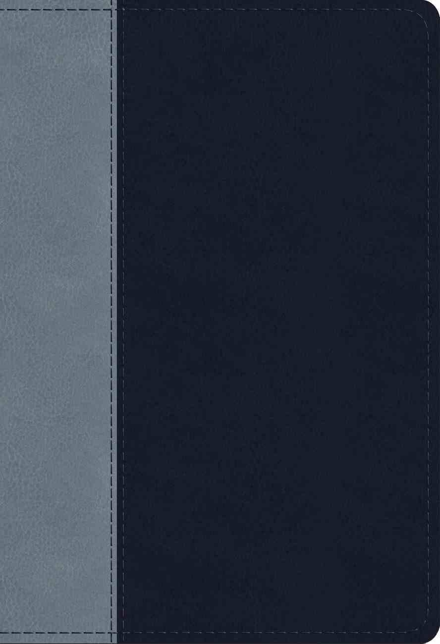 ESV Student Study Bible Navy/Slate Timeless Design (Black Letter Edition) Imitation Leather