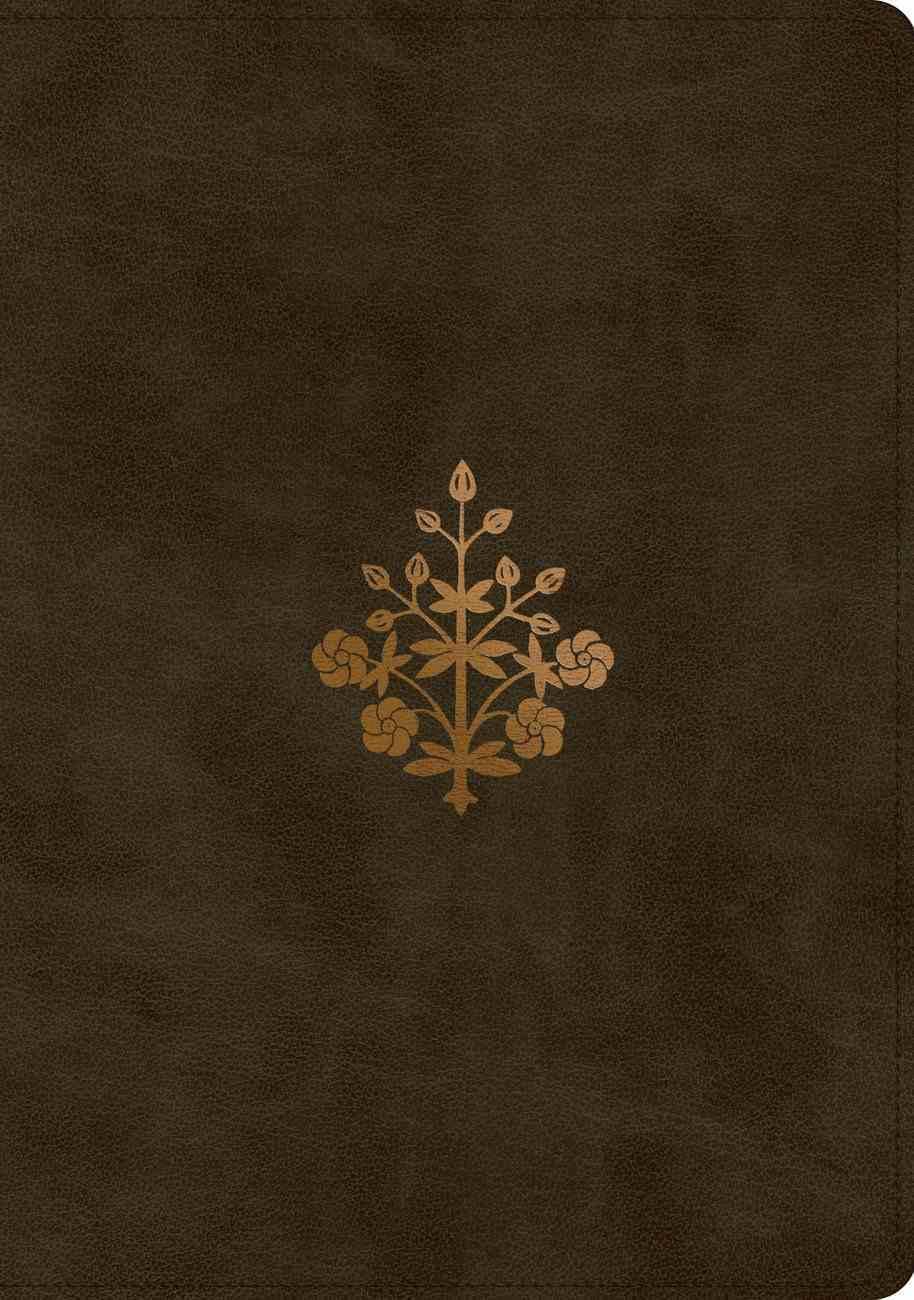 ESV Study Bible Olive Branch Design (Black Letter Edition) Imitation Leather