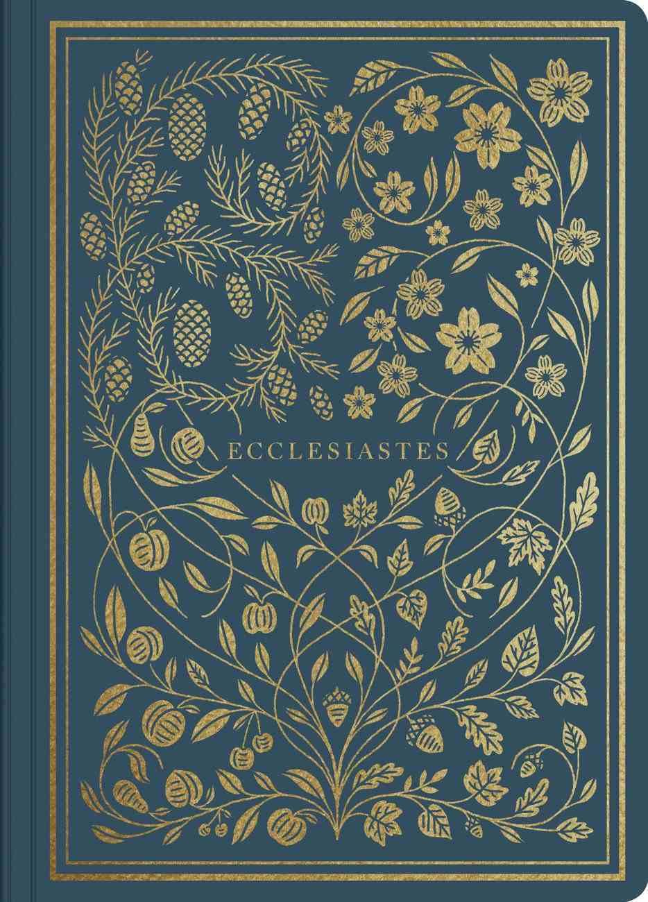 ESV Illuminated Scripture Journal Ecclesiastes (Black Letter Edition) Paperback