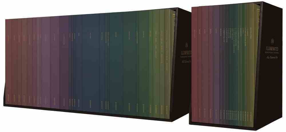 ESV Illuminated Scripture Journal Old and New Testament Sets (Black Letter Edition) Paperback