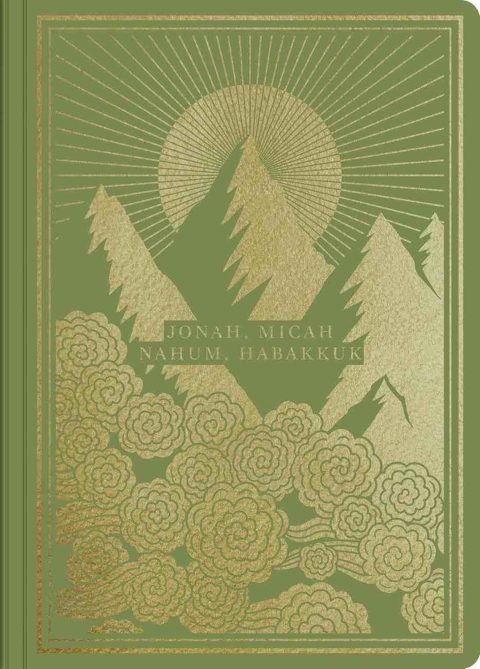 ESV Illuminated Scripture Journal Jonah Micah Nahum and Habakkuk (Black Letter Edition) Paperback