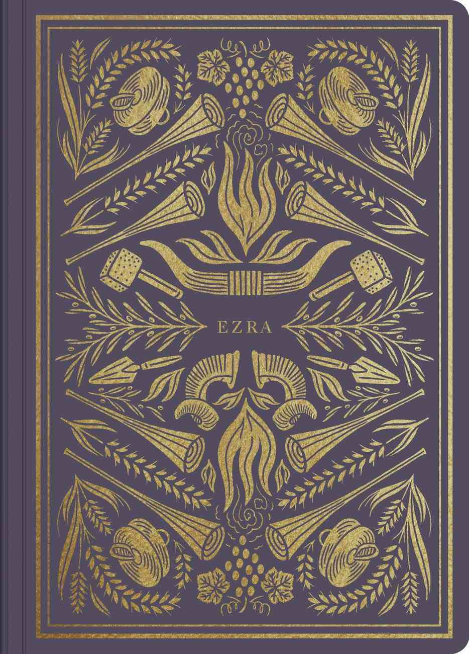 ESV Illuminated Scripture Journal Ezra (Black Letter Edition) Paperback