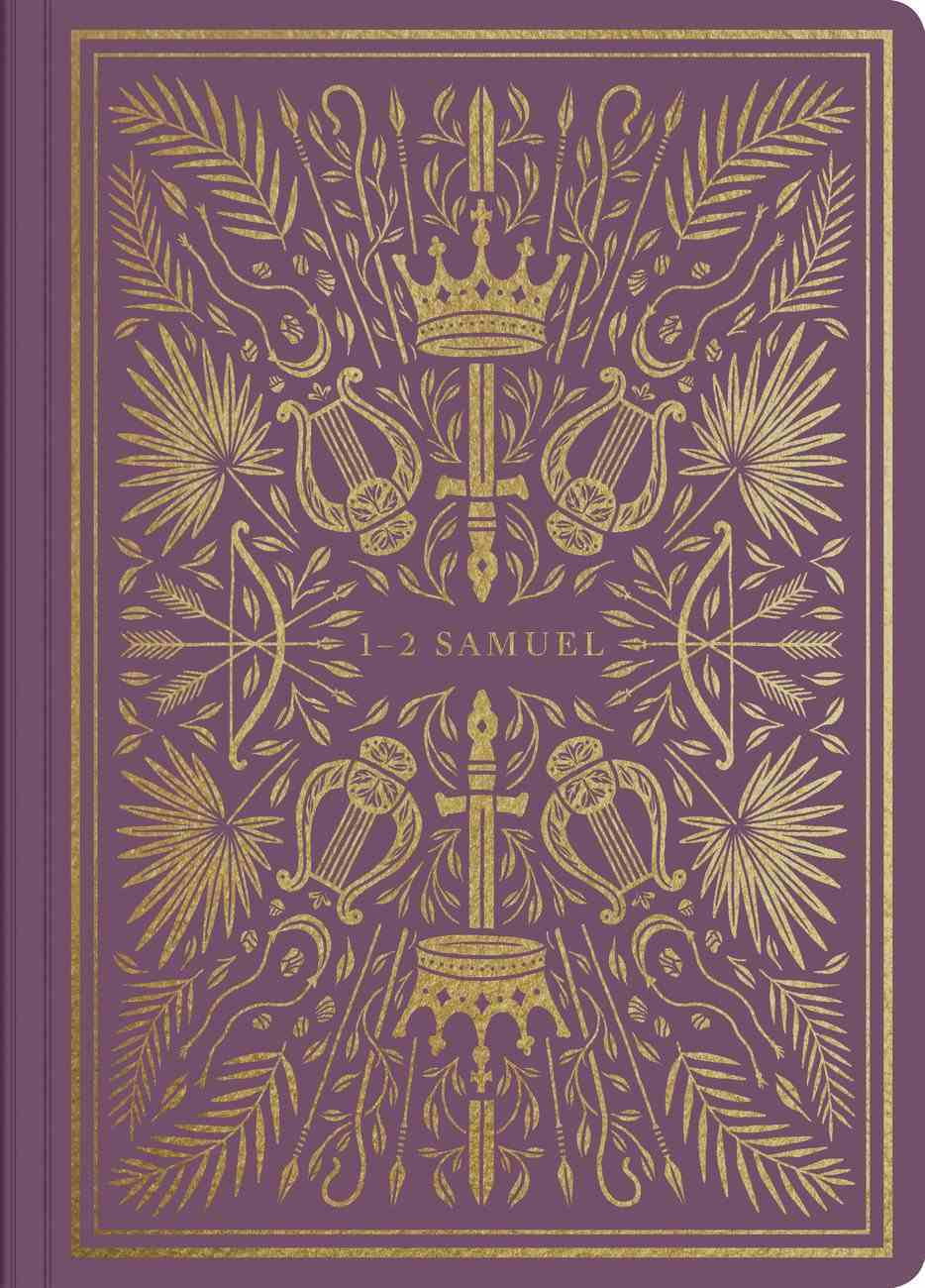 ESV Illuminated Scripture Journal 1-2 Samuel (Black Letter Edition) Paperback