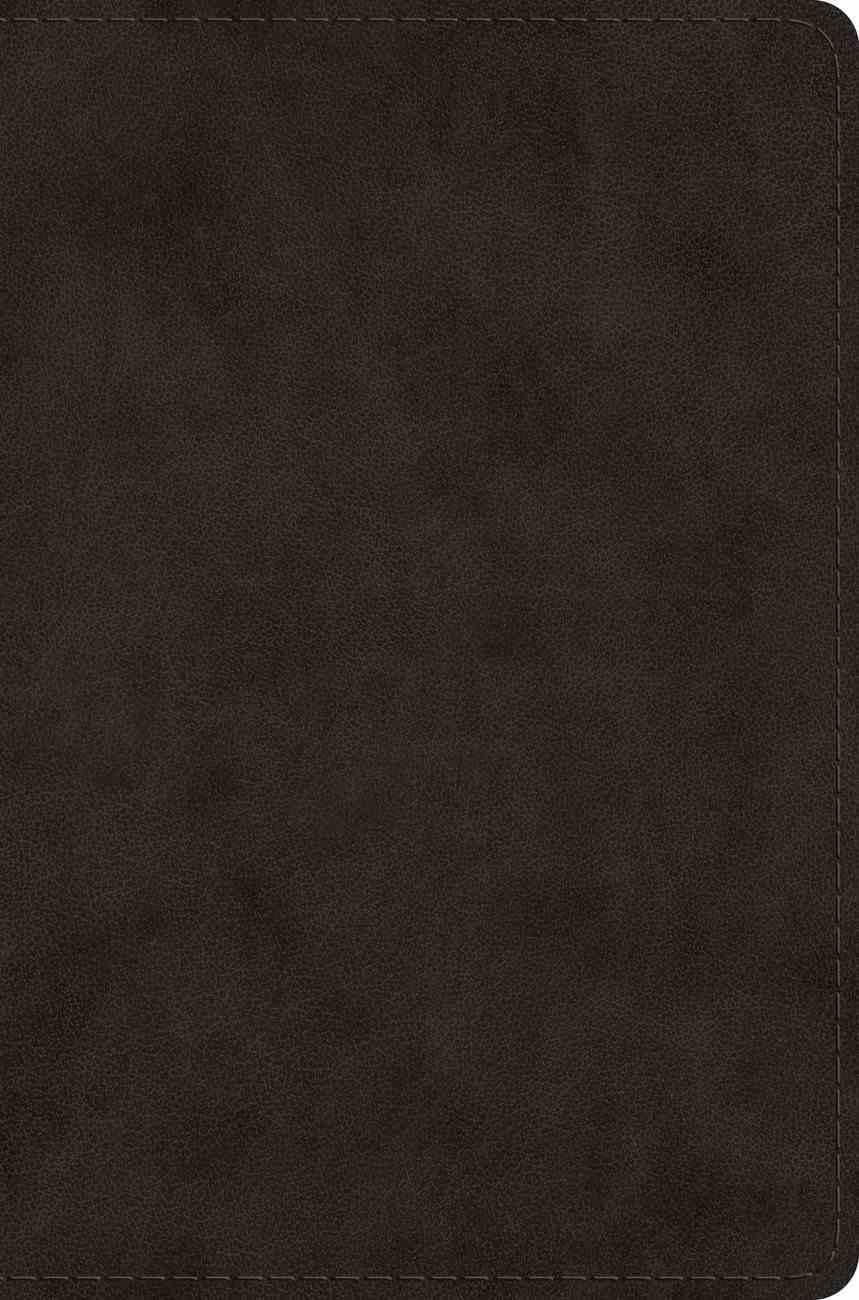 ESV Single Column Legacy Bible Black Imitation Leather