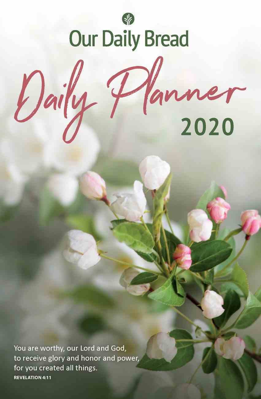 2020 Daily Diary/Planner: Our Daily Bread Spiral
