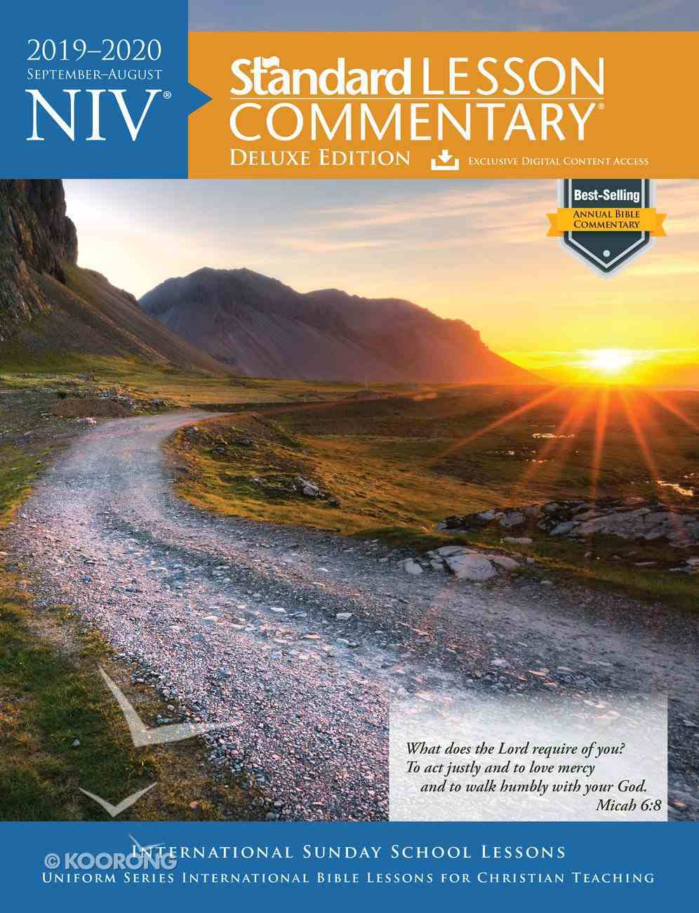 NIV Standard Lesson Commentary Deluxe Edition 2019-2020 Paperback