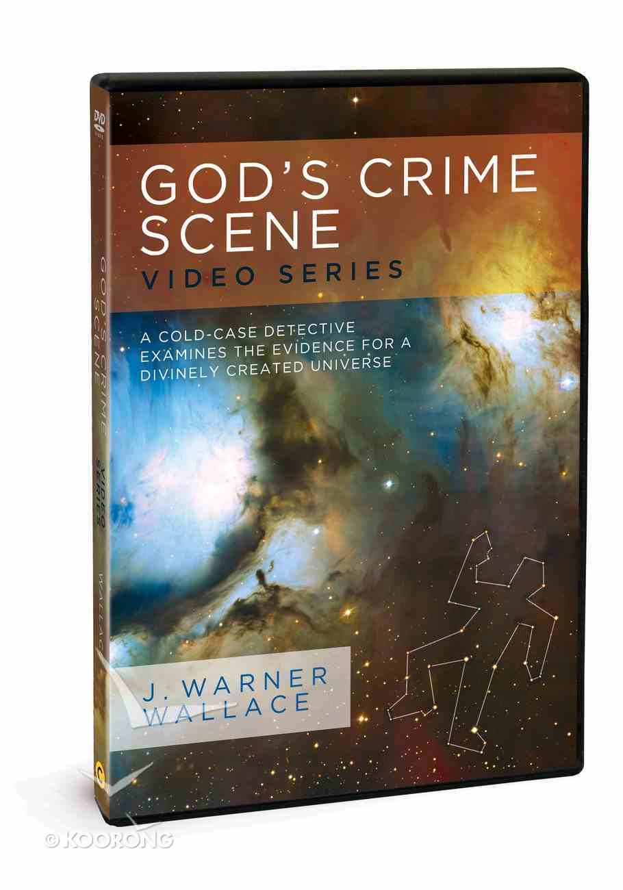 God's Crime Scene: A Cold-Case Detective Examines the Evidence For a Divinely Created Universe (Video Series With Facilitator Guide) DVD