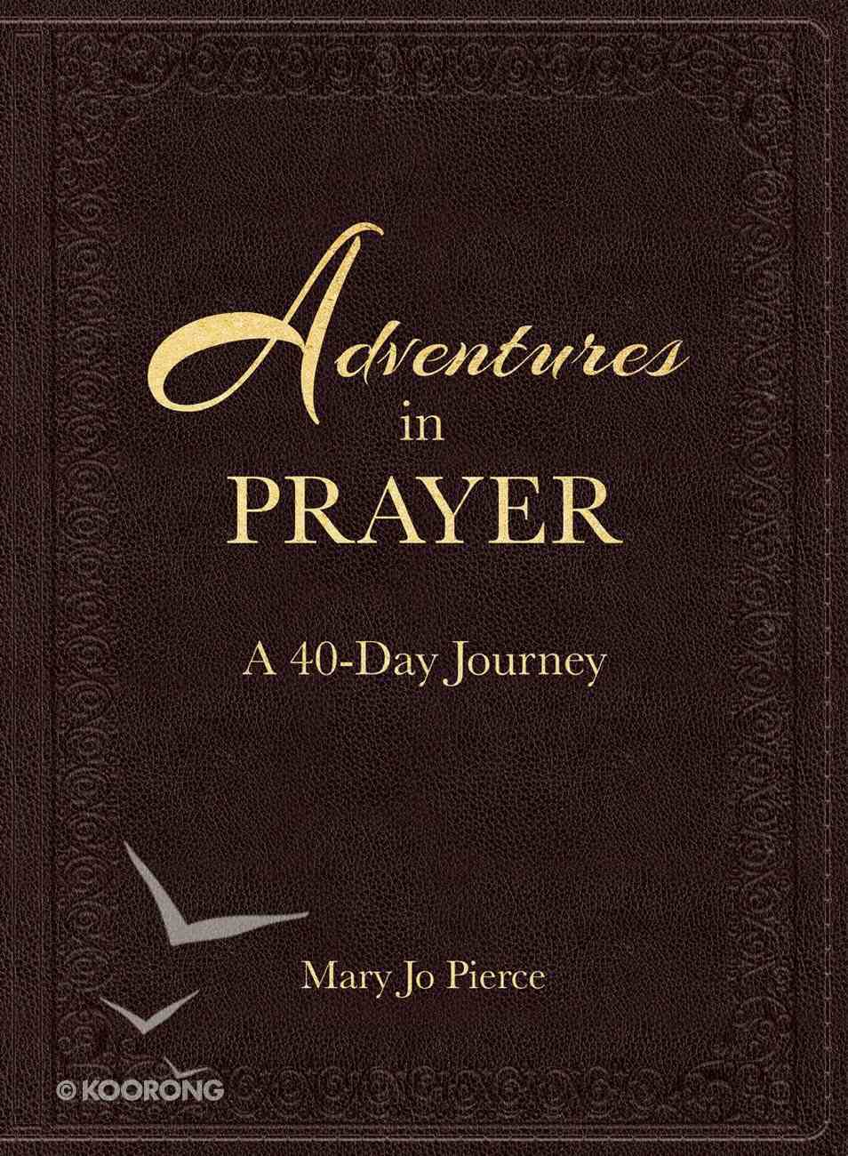 Adventures in Prayer: A 40-Day Journey Imitation Leather