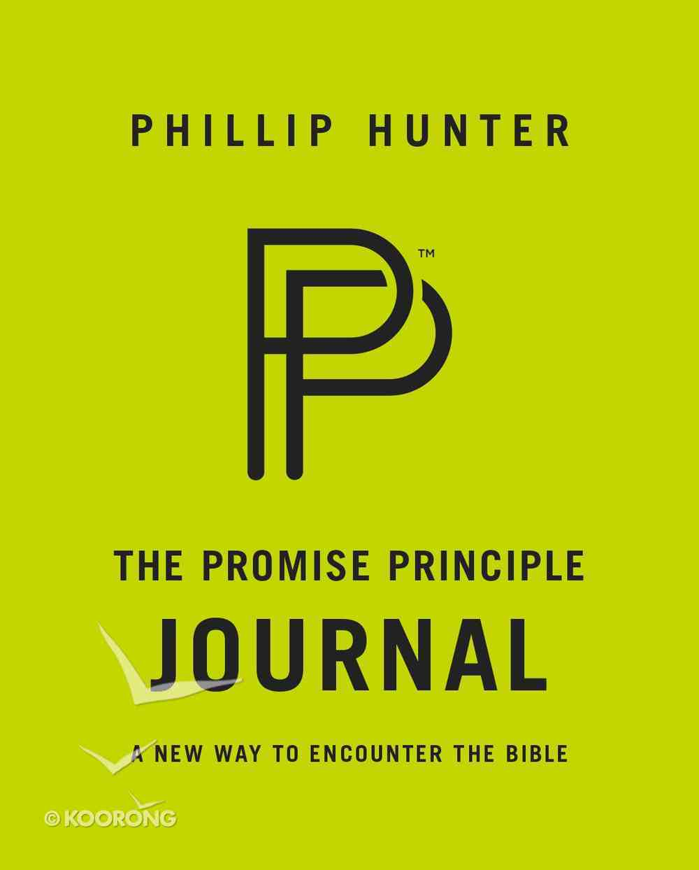 The Promise Principle Journal: A New Way to Encounter the Bible Spiral