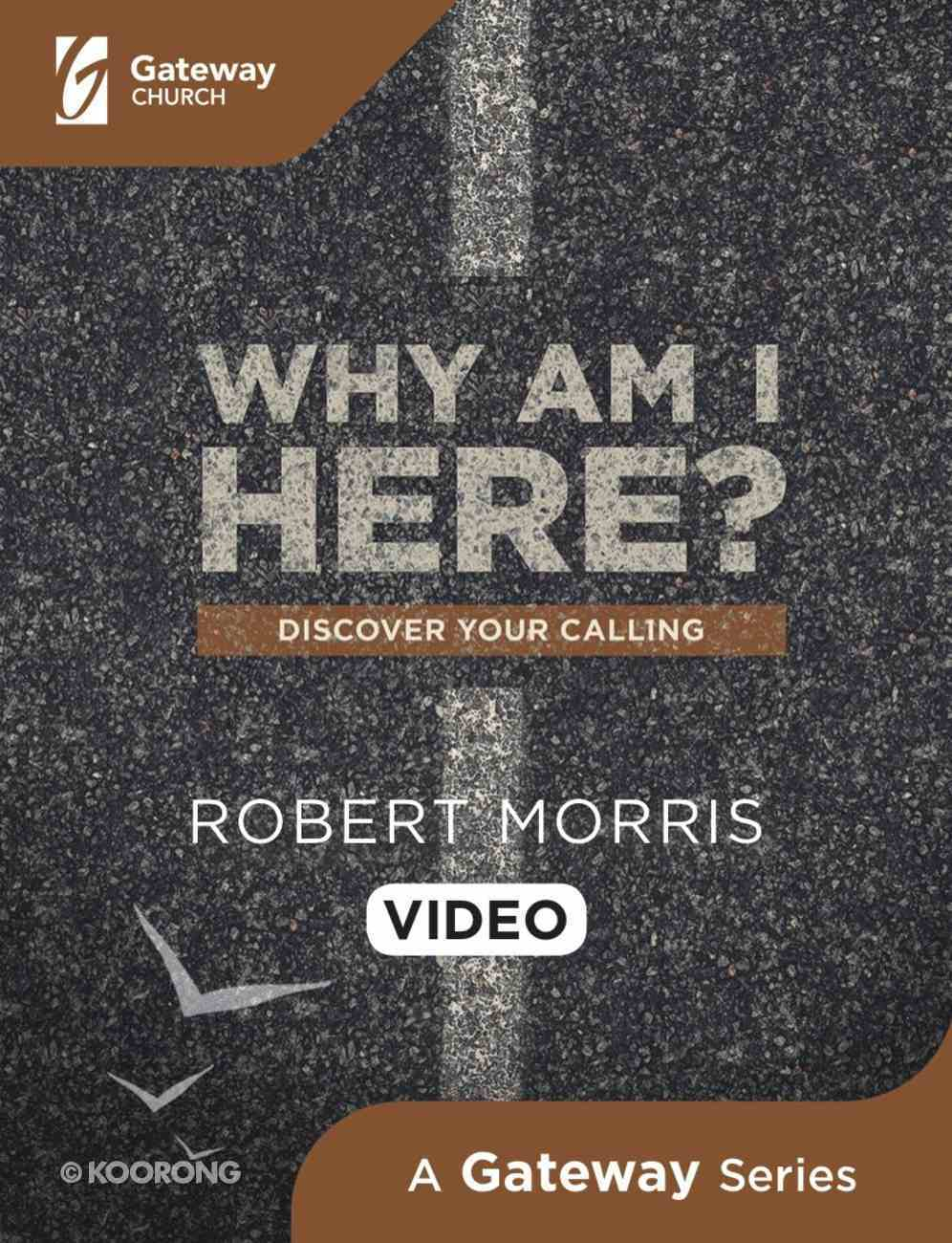 Why Am I Here?: Discover Your Calling (Dvd) DVD