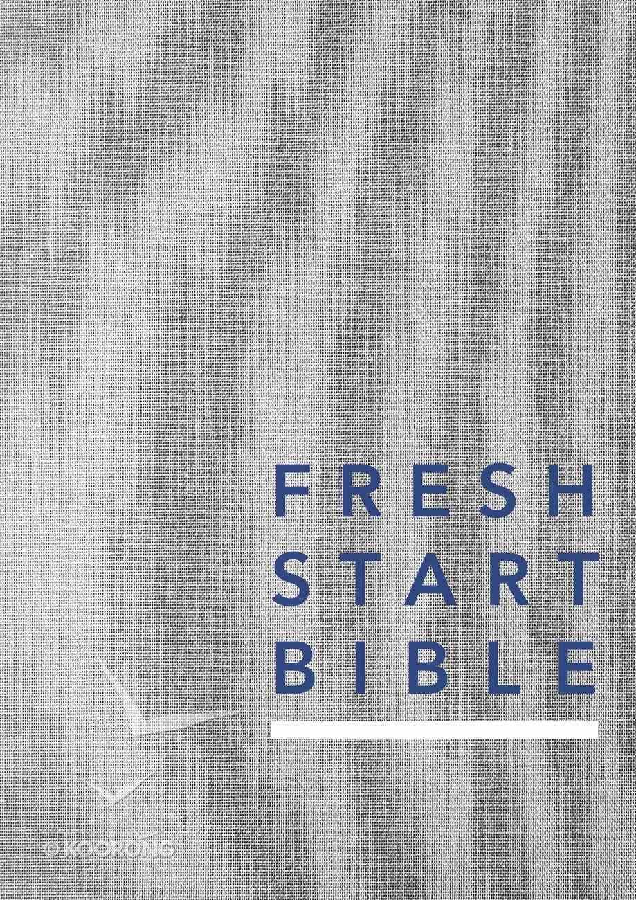 NLT Fresh Start Bible Hardback