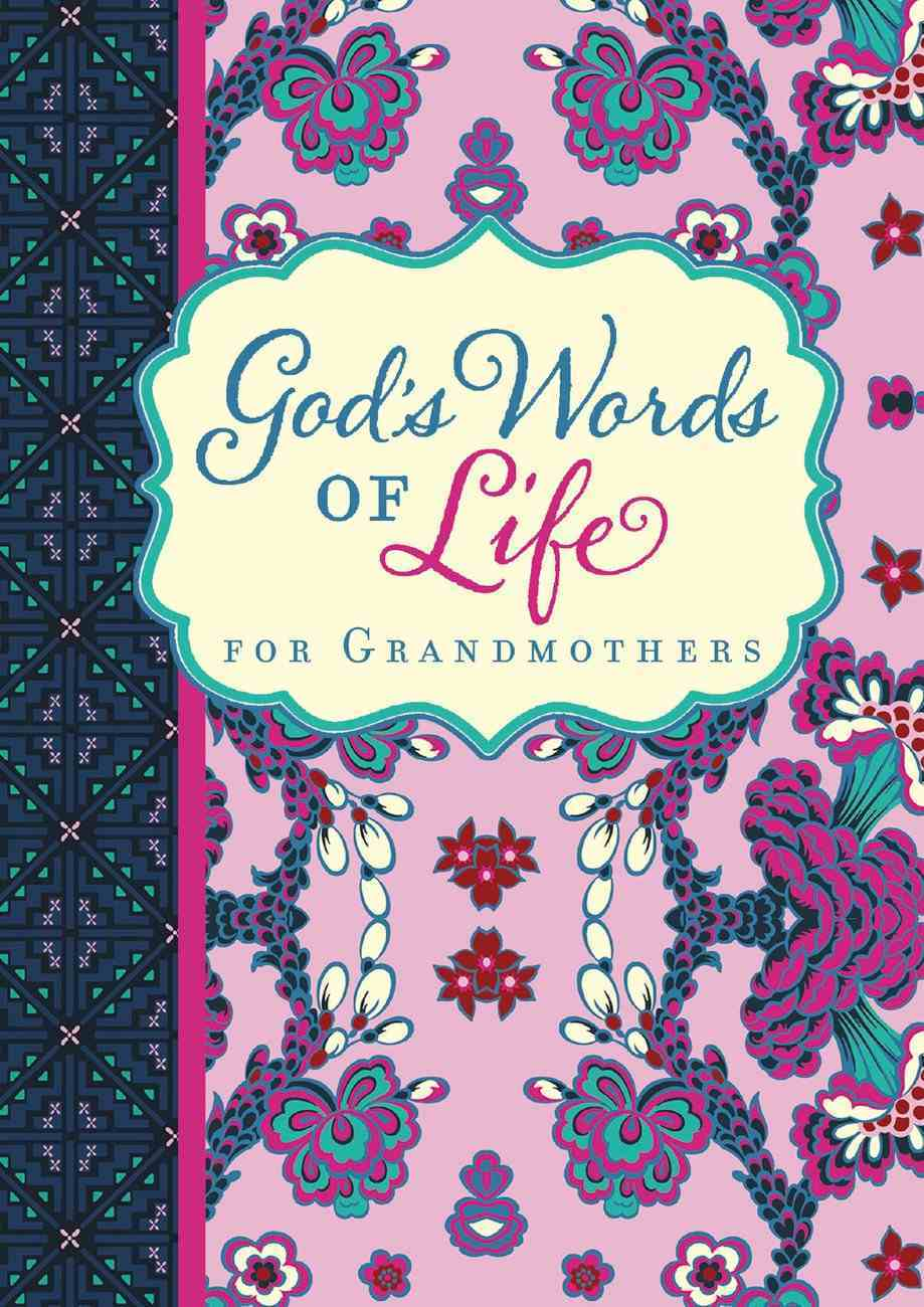 God's Words of Life For Grandmothers eBook