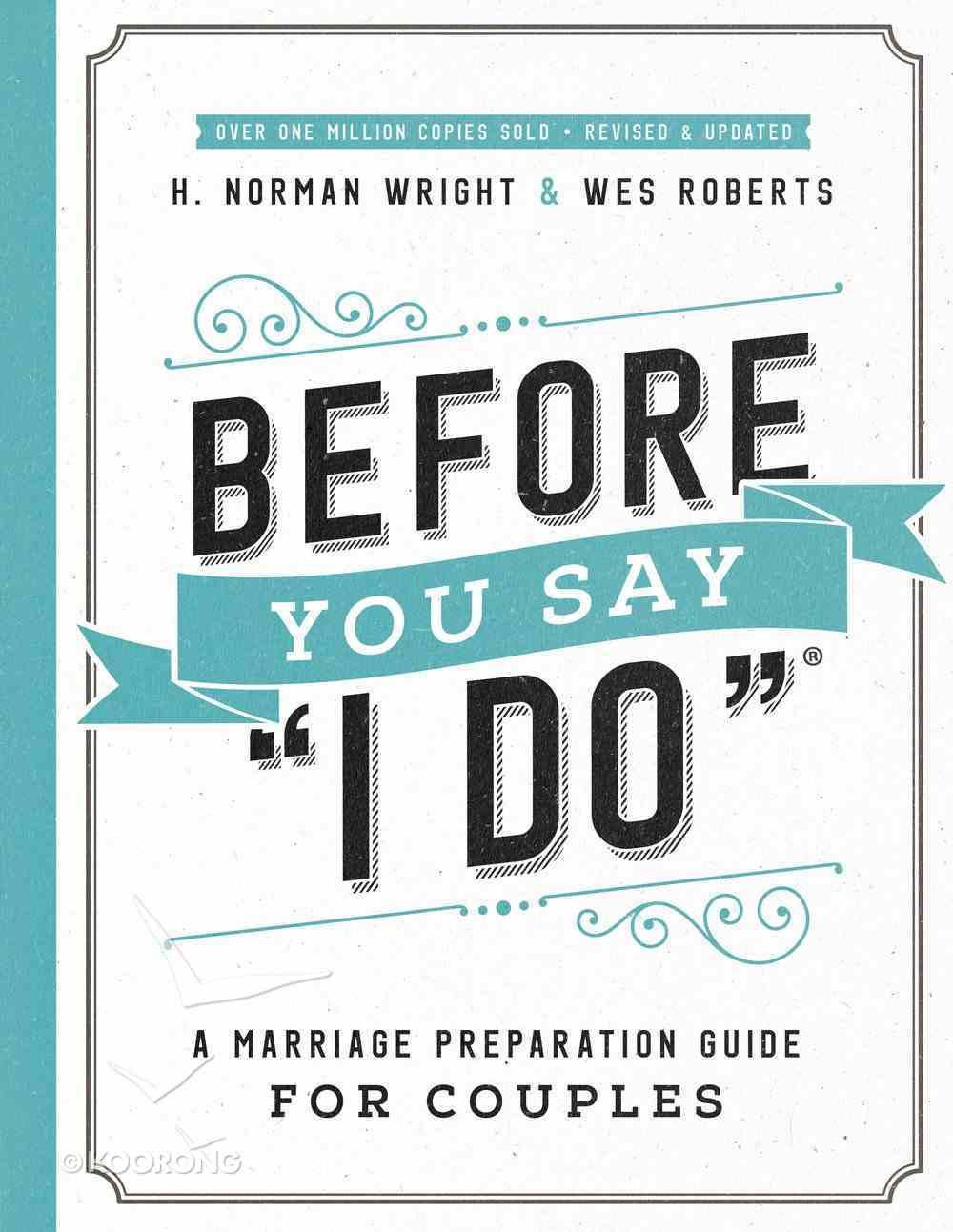 "Before You Say ""I Do"" eBook"