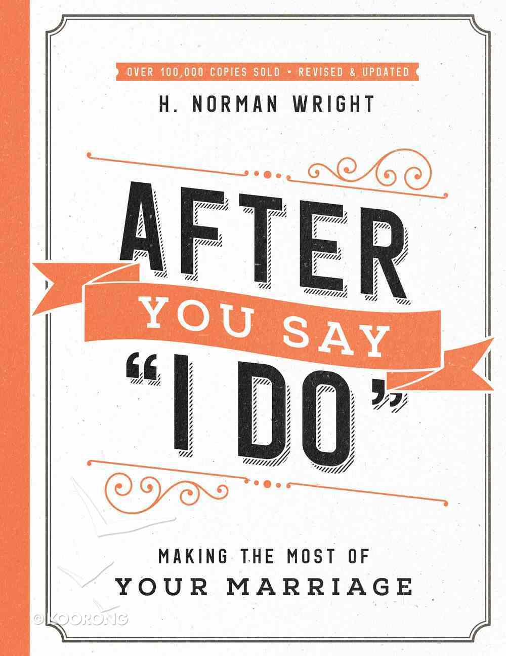 """After You Say """"I Do"""" eBook"""
