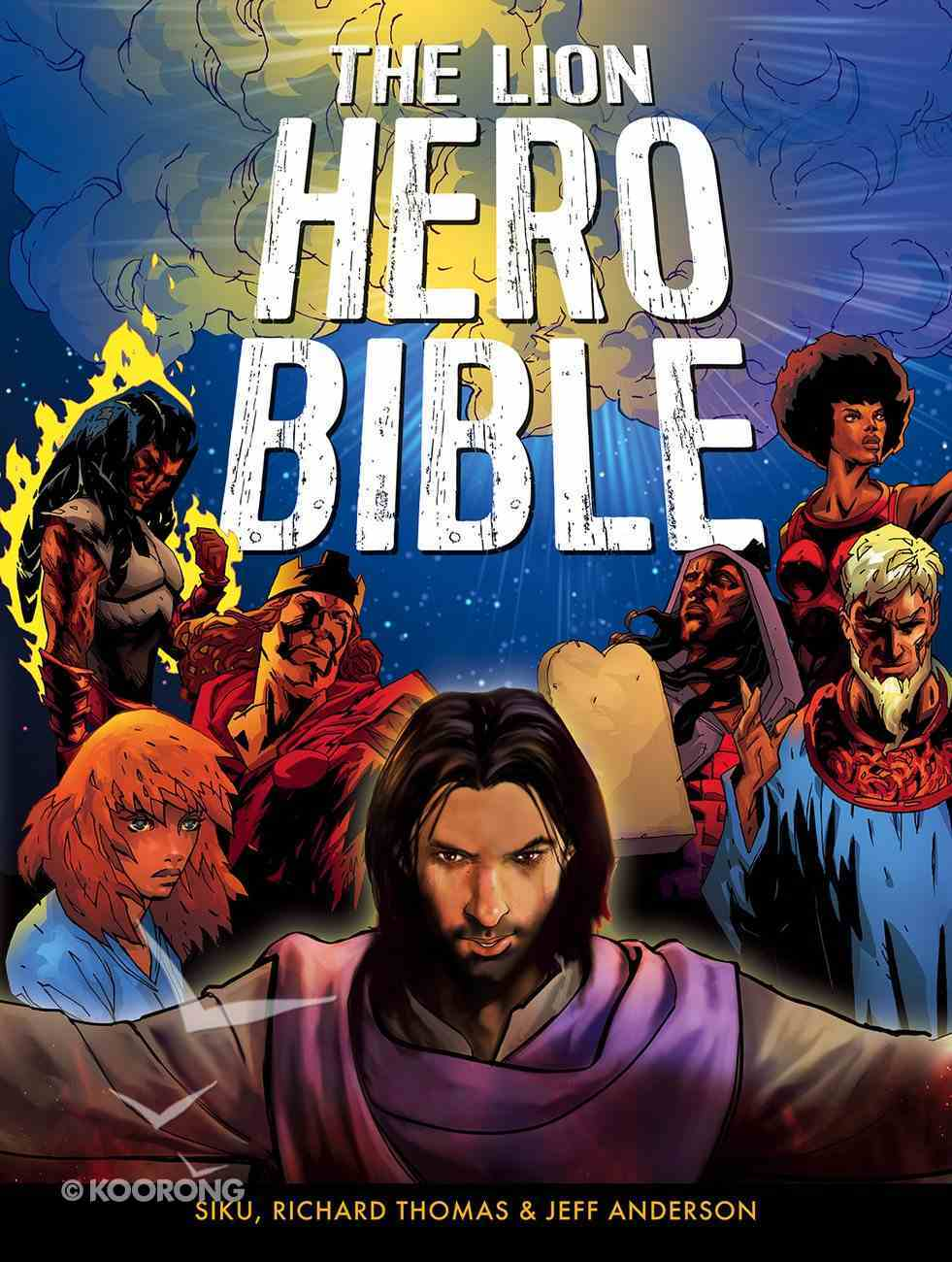 The Lion Hero Bible Paperback
