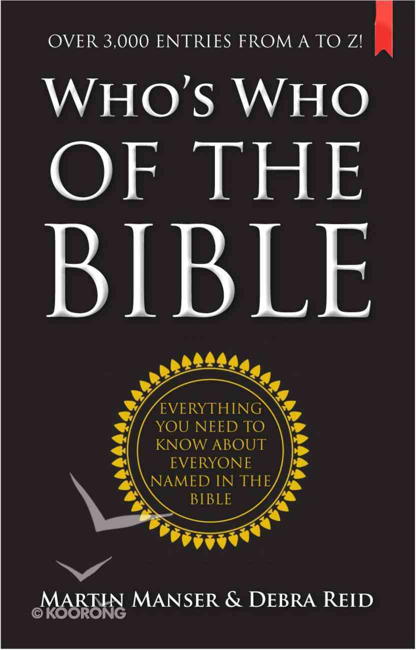 Who's Who of the Bible eBook