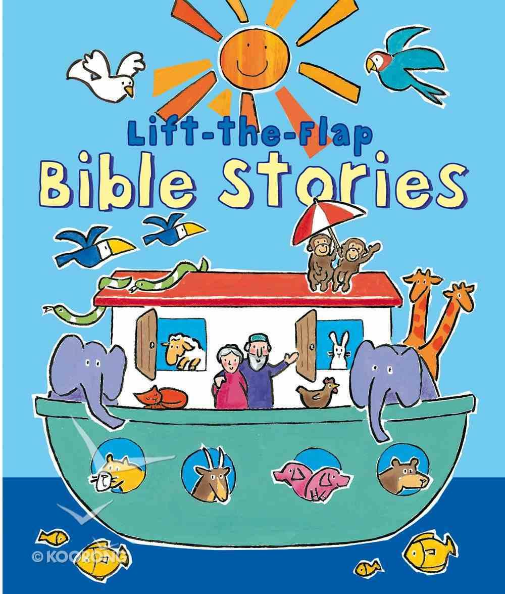 Lift-The-Flap: Bible Stories Hardback