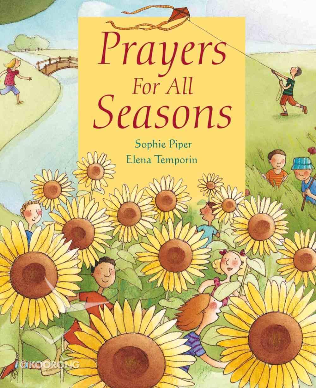 Prayers For All Seasons Hardback