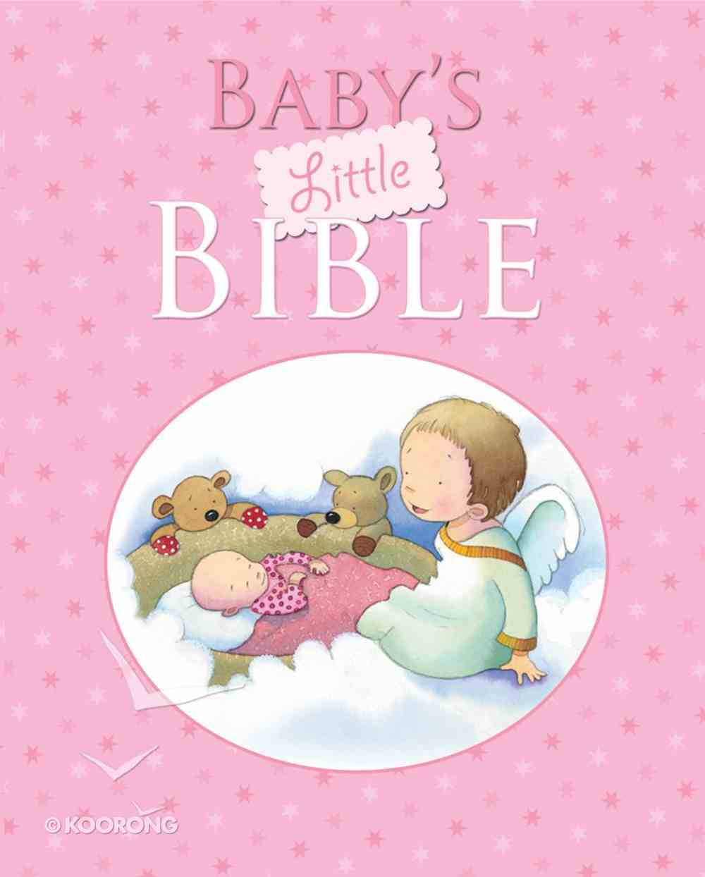 Baby's Little Bible (Pink) Hardback