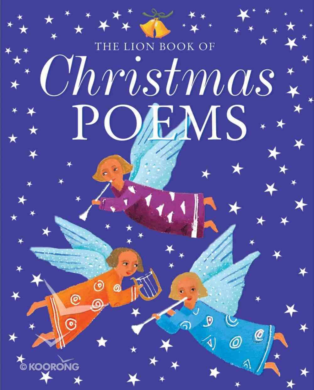 The Lion Book of Christmas Poems Hardback